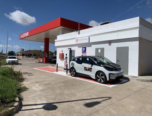 Estació de Servei Porto-Gas. Punt de recàrrega públic